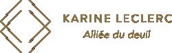 Karine Leclerc Alliée du deuil Logo